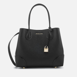MICHAEL MICHAEL KORS Women's Mercer Gallery Center Zip Tote Bag - Black