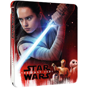 Star Wars: The Last Jedi - 4K Ultra HD (Includes 2D Blu-ray) - Zavvi UK Exclusive Limited Edition Steelbook