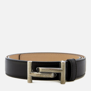 Tod's Men's Double T Belt - Black