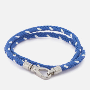 Tod's Men's Scooby Trek Bracelet - Blue/White