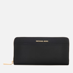 MICHAEL MICHAEL KORS Women's Pocket Zip Around Continental Wallet - Black