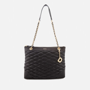 DKNY Women's Lara Medium Tote Bag - Black