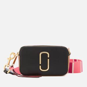 Marc Jacobs Women's Snapshot Cross Body Bag - Black/Gazelle