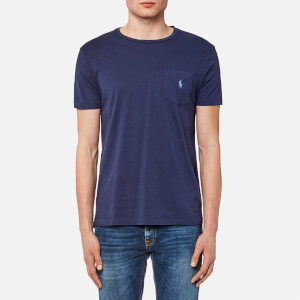 Polo Ralph Lauren Men's Logo Jersey Short Sleeve T-Shirt - Newport Navy