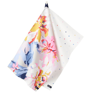 Joules Thea Tea Towel - 2 Pack - Whitstable Floral