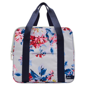 Joules Cool Bag - Grey Whitstable Floral