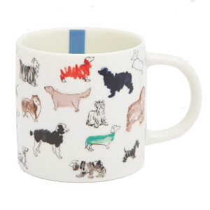 Joules Cupper Single Mug - All Over Dog