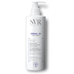 SVR Xerial 10 Body Lotion for Extremely Dehydrated + Flaking Skin - 400ml (Worth $40)