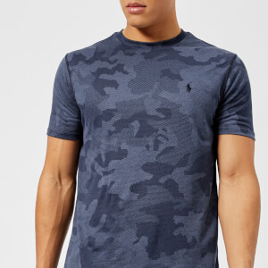 Polo Ralph Lauren Men's Short Sleeve Performance T-Shirt - Navy Hex Camo