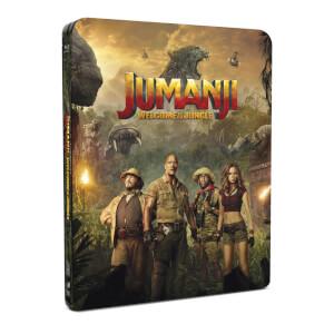 Jumanji : Bienvenue dans la jungle - 4K Ultra HD Steelbook Édition Limitée Exclusivité Zavvi (+ Version 2D