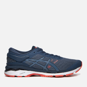 Asics Men's Running Gel-Kayano 24 Trainers - Smoke Blue/Smoke Blue/Dark Blue