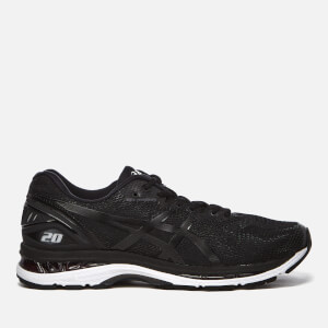 Asics Running Men's Gel-Nimbus 20 Trainers - Black/White/Carbon