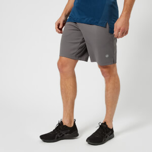 Asics Running Men's Knit 10 Inch Shorts - Carbon