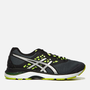 Asics Men's Running Gel-Pulse 9 Trainers - Carbon/Silver/Safety Yellow