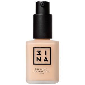 3INA 3-in-1 Foundation 30 ml (Ulike fargetoner)
