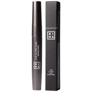3INA Makeup The Ultra Curling Mascara Black 8 ml