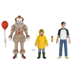 Pack 3 Figuras Funko Articuladas Pennywise, Georgie y Bill - IT