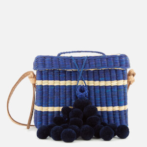 Nannacay Women's Roge Multi Thread Cross Body Bag - Navy