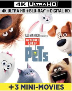 Secret Life Of Pets - 4K Ultra HD