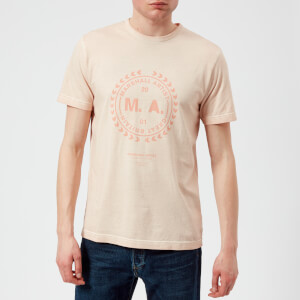 Marshall Artist Men's Garment Dyed T-Shirt - Pink