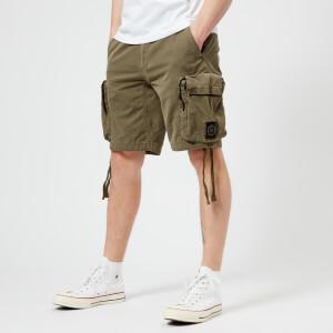 Marshall Artist Men's Garment Dyed Cargo Shorts - Khaki