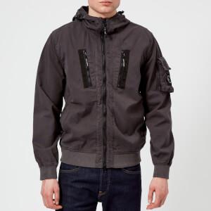 Marshall Artist Men's Garment Dyed Bomber Jacket - Charcoal
