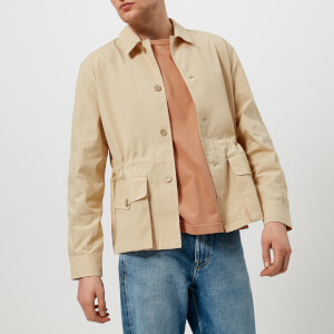 Our Legacy Men's Puff Pocket Shirt Jacket - Nicotine