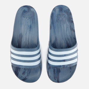 adidas Men's Duramo Slide Sandals - Raw Steel
