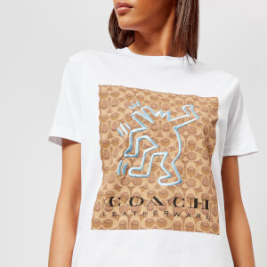 Coach 1941 Women's Coach X Keith Haring T-Shirt - Optic White