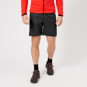 Adidas Terrex Men's Mountain Fly AOP Shorts - Carbon