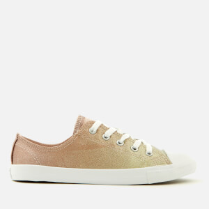 Converse Women's Chuck Taylor All Star Dainty Ox Trainers - Gold/Particle Beige/White
