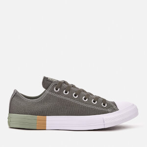 Converse Men's Chuck Taylor All Star Ox Trainers - River Rock/Surplus Sage/White