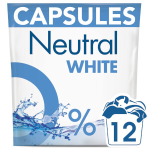 Neutral White Washing Capsules - 12 Wash 318g