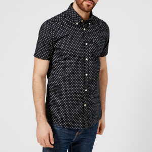 Barbour Men's Rory Short Sleeve Shirt - Navy