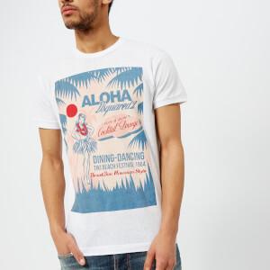 Dsquared2 Men's Aloha Print T-Shirt - White
