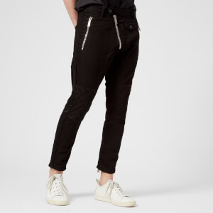 Dsquared2 Men's Black Bull Biker Fit Trousers - Black