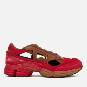 adidas by Raf Simons Men's Replicant Ozweego Trainers - Scarlet/Dust Rust