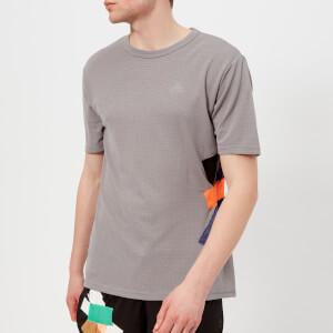 adidas by kolor Men's Climachill Short Sleeve T-Shirt - Grey Three