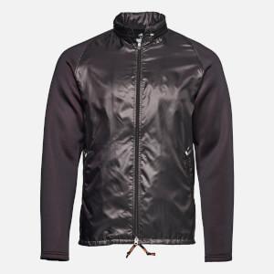 adidas by kolor Men's Fabric Mix Jacket - Black