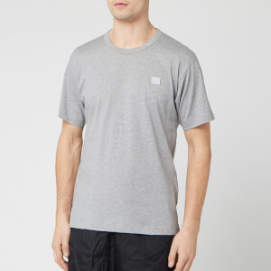 Acne Studios Men's Nash Face T-Shirt - Grey