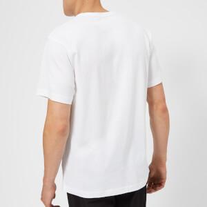 Acne Studios Men's Nash Face Logo Crew Neck T-Shirt - Optic White: Image 2