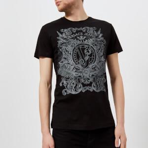 Versace Jeans Men's Chest Logo T-Shirt - Nero