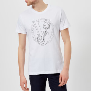 Versace Jeans Men's VJ Chest Logo T-Shirt - Bianco
