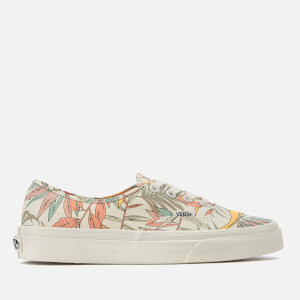 Vans Women's California Floral Authentic Trainers - Marshmallow