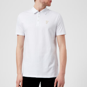 Versace Collection Men's Basic Polo Shirt - White