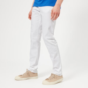Versace Collection Men's Pocket Logo Denim Jeans - Bianco Ottico