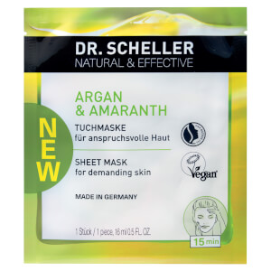 Dr. Scheller Natural & Effective Argan & Amaranth Tuchmaske
