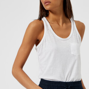 Superdry Women's Burnout Pocket Vest - Optic