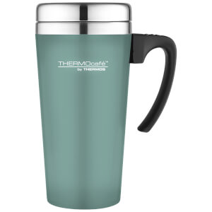 Thermos ThermoCafe Soft Touch Travel Mug - Duck Egg 420ml