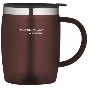 Thermos ThermoCafe Soft Touch Desk Mug - Paprika 450ml